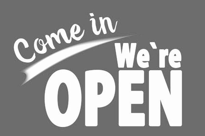 Vi ændrer vores åbningstider